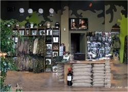 Un negozio di abbigliamento fuori dal comune