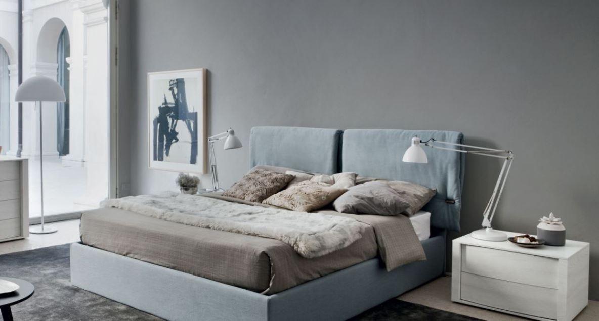 Camera da letto Montgomery letto imbottito